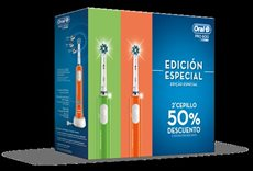 CEPILLO DENTAL BRAUN DUO PRO 600 VERDE + NARANJA