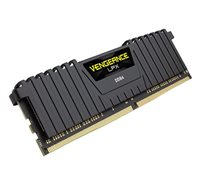 DDR4 8 GB 2400 VENGEANCE LPX BLACK CORSAIR