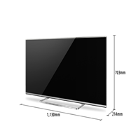 LED 50  PANASONIC TX-50AS650 SMART TV 3D